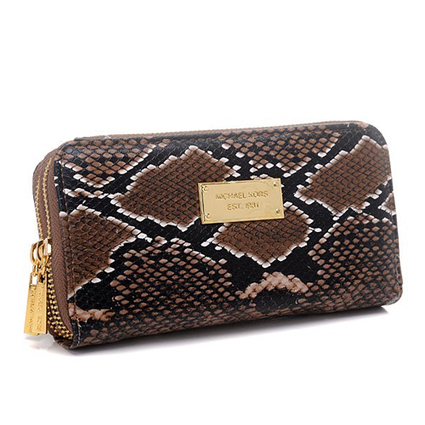 International Michael Kors Python Continental Large Brown Wallets at Prettybagoutlet | Michael kors Wallets | Scoop.it
