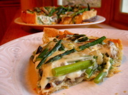 Asparagus and Mushroom Quiche | Healthy Meals | Scoop.it