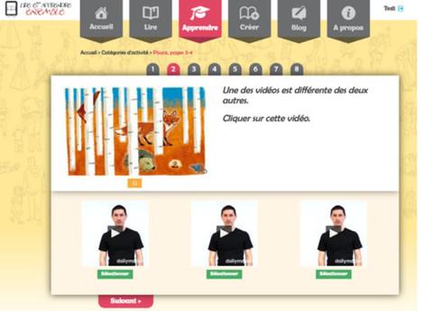 Une plateforme d'activités pour les enfants en LSF | Gazette du numérique | Scoop.it