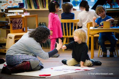 Being Present — Maria Montessori | Papillonant... | Scoop.it