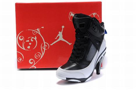 Nike Air Jordan 3.5 Heels Black/White   share and want   Scoop.it