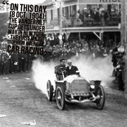 8 October, 1904: First Vanderbilt Cup US Races - Cars On This Day | William K Vanderbilt II | Scoop.it