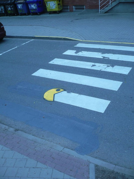 Street Art Pacman | All Geeks | Scoop.it