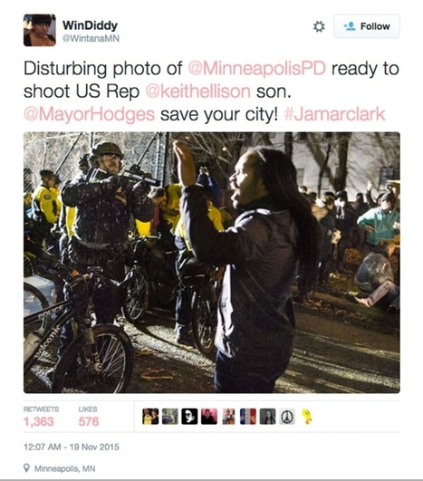 More protests in Minneapolis over police shooting of Jamar Clark | enjoy yourself | Scoop.it