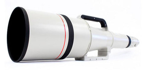 This ultra-rare, insanely cool 1200mm f/5,6 USM Canon lens could be yours… for just US$165,000! | pixels and pictures | Scoop.it