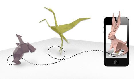 Augmented Reality erweckt Papier zum Leben « Netural ... | Augmented Reality und Spiele | Scoop.it
