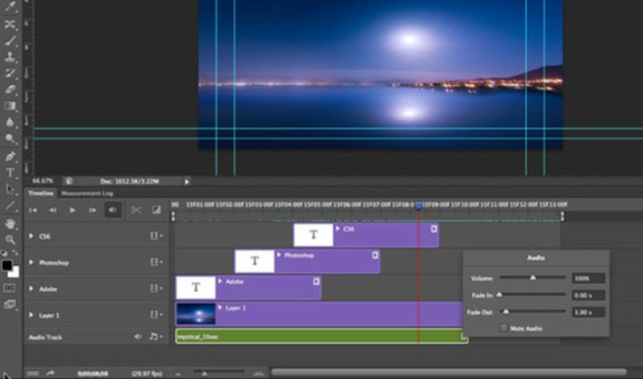 Creating Animation with Audio in Photoshop CS6 Tutorial   Machinimania   Scoop.it