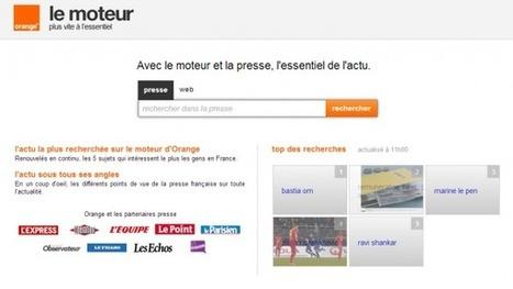 Un moteur de recherche d'actualités pour la presse française | SourcingCNFPT | Scoop.it