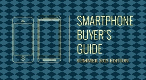 Engadget's smartphone buyer's guide: summer 2013 edition | theNEXTthing | Scoop.it