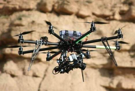 Drones offer 360° vision for oil-hunting geologists | Scoops GGE | Scoop.it
