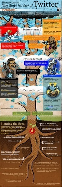 25 Inspiring Infographics on Twitter | SM | Scoop.it