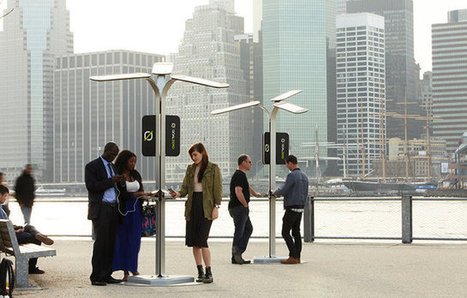 NYC To Install Free Cellphone-Charging Stations | Flow: Innovación | Scoop.it