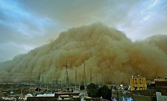 'Apocalyptic-Like' Sandstorm Engulfs Egypt's Aswan | Messenger for mother Earth | Scoop.it