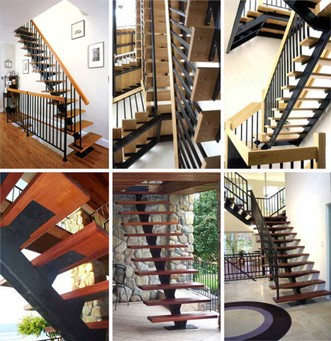 Creative Hanging, Floating & Suspended Staircases | Designs & Ideas on Dornob | What Surrounds You | Scoop.it