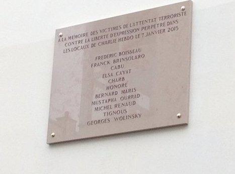 Charlie Hebdo : le nom de Wolinski mal écrit sur la plaque commémorative | Crise de com' | Scoop.it