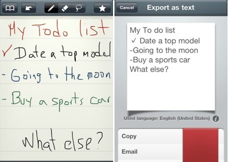 Daily iPad App: MyScript Memo takes your handwriting and turns it ... | Alive and Learning | Scoop.it