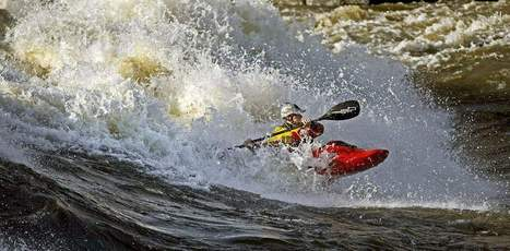 Black River at flood stage elevates playing field for pro kayakers (VIDEO) - WatertownDailyTimes.com | Whitewater Kayaking | Scoop.it