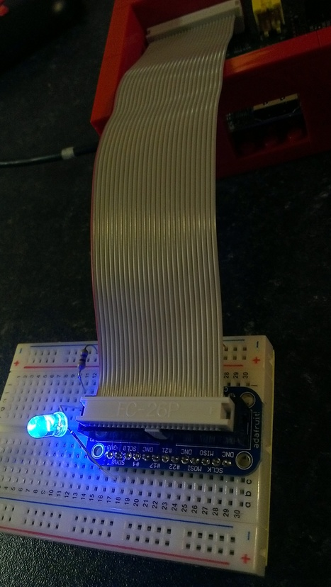 So my first attempts at soldering seemed to have worked & led is lighting. | Raspberry Pi | Scoop.it
