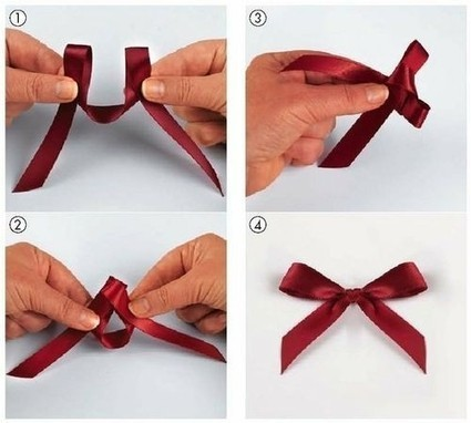 Créer un petit noeud tout simplement | Bijoux sucrés, Bijoux fantaisie, Bijoux gourmands, Pâte Fimo, Nail Art et Miniatures gourmandes | Bijoux Sucrés | Scoop.it