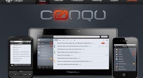 Conqu GTD Blackberry App Review | Digital Soon | Scoop.it