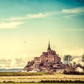 The Monastery in the Sea: 20 Stunning Photos of Mont Saint Michel | Stock Photography | Scoop.it