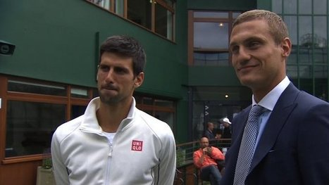 Djokovic says Vidic is 'lucky charm' | sports | Scoop.it
