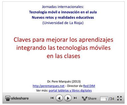 Educación tecnológica: Claves para integrar las tecnologías móviles en el aula   APRENDIZAJE   Scoop.it