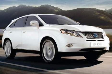 Sales Of Lexus Hybrids Pass Milestone | Education, Eco and Tech Info | Scoop.it