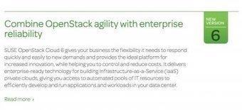 Voici SUSE OpenStack Cloud 6 | Actualités de l'open source | Scoop.it