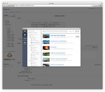 MediaCore Moodle Video Plugin   Moodle and Web 2.0   Scoop.it