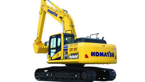 ConExpo : la dernière pelle hybride par Komatsu - Construction Cayola | Engins de chantier et grues | Scoop.it