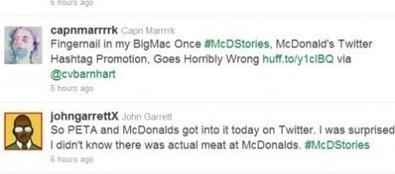 McDo se prend un revers de tweet | Web Marketing Magazine | Scoop.it