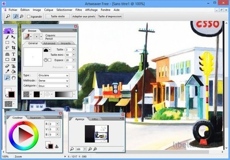 Artweaver Free - Programme de peinture sur PC | formation 2.0 | Scoop.it