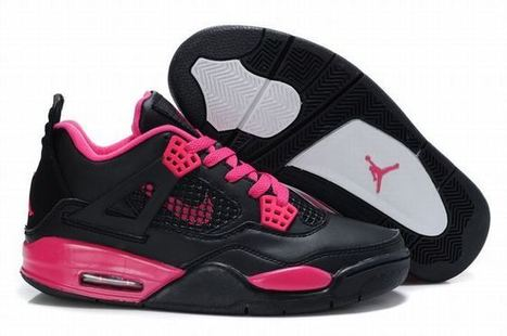 More Images: Womens Retro 4 Black/Red Shoes Jordan Brand Releasing at Nike | fashion list | Scoop.it