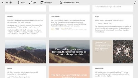 Deckset Creates Great Looking Presentations from Any Markdown File | Digital-News on Scoop.it today | Scoop.it
