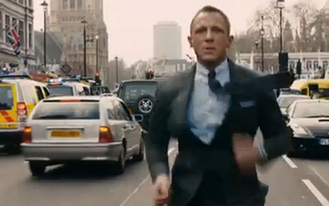 See the First Trailer for the Next James Bond Movie, Skyfall [VIDEO] | #Movies, trailers, reviews | Scoop.it