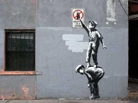 Graffiti Artist Banksy Has Popped Up In New York City | ESocial | Scoop.it