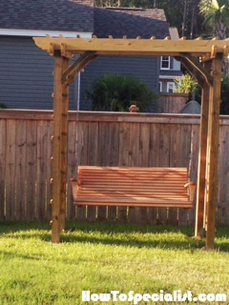 How to make an arbor 16 arbor woodworking plans apps directories