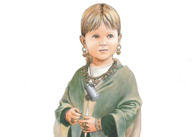 Study Suggests Children's Medieval Burial Was Revered - Archaeology Magazine | The Merovingian Kingdoms | Scoop.it