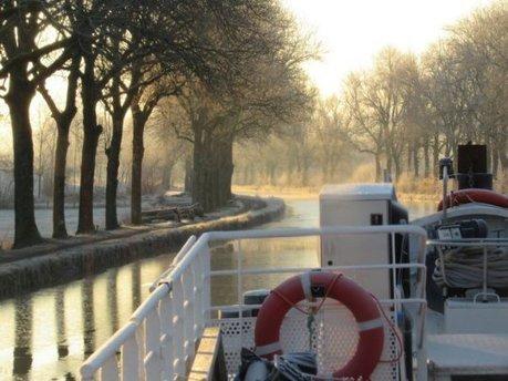 Du vin bio au fil de l'eau : une coopérative tente de relancer le transport fluvial, bien moins polluant | Le vin quotidien | Scoop.it