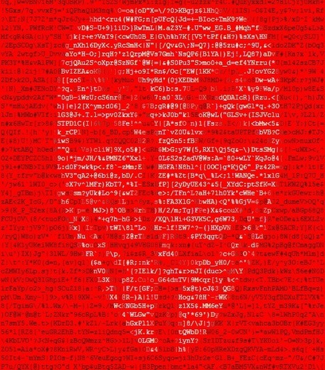 anonymous 轉 ascii art | ASCII Art | Scoop.it