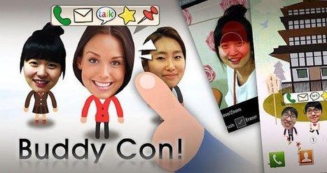 BuddyCon, convierte a tus contactos en avatares interactivos para tu fondo de pantalla   Recull diari   Scoop.it
