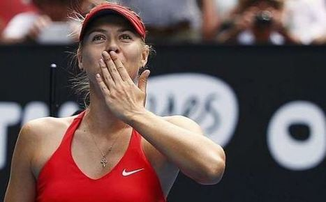 Sharapova es la gran estrella del Marketing Deportivo femenino - La Jugada Financiera | Seo, Social Media Marketing | Scoop.it