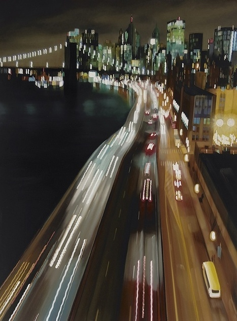 New Speeding Through NYC Oil Paintings by Alexandra Pacula   Culture and Fun - Art   Scoop.it