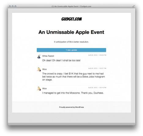 Préparer votre WordPress pour les événements Live   Boloms Blog   Utiliser WordPress   Scoop.it