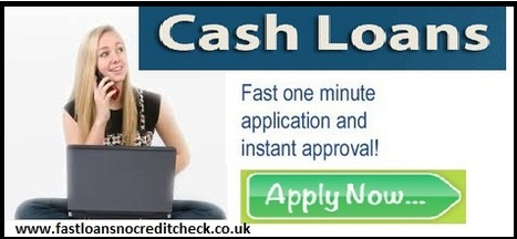 Cash Loans –Cash At Your Place, When Unwanted And Unplanned Expenses At Your Door | Fast Loans No Credit Check | Scoop.it