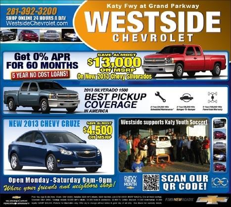 Chevrolet New Car Specials |Chevy Dealer Houston Tx | Chevy Car Dealer | Scoop.it