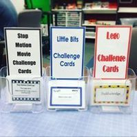 MakerSpace: Challenge Cards, getting teens to try new activities in the Teen MakerSpace | LibraryLinks LiensBiblio | Scoop.it