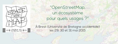 Le State Of The Map OpenStreetMap France à Brest c'est Vendredi ! | Cartographie collaborative | Scoop.it