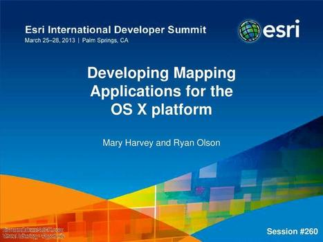 Developing Mapping Applications For The OS X Platform, Electronics | wesrch | Scoop.it